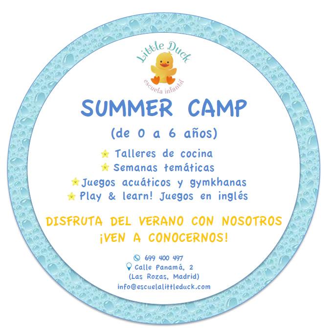campamentos de verano en las rozas